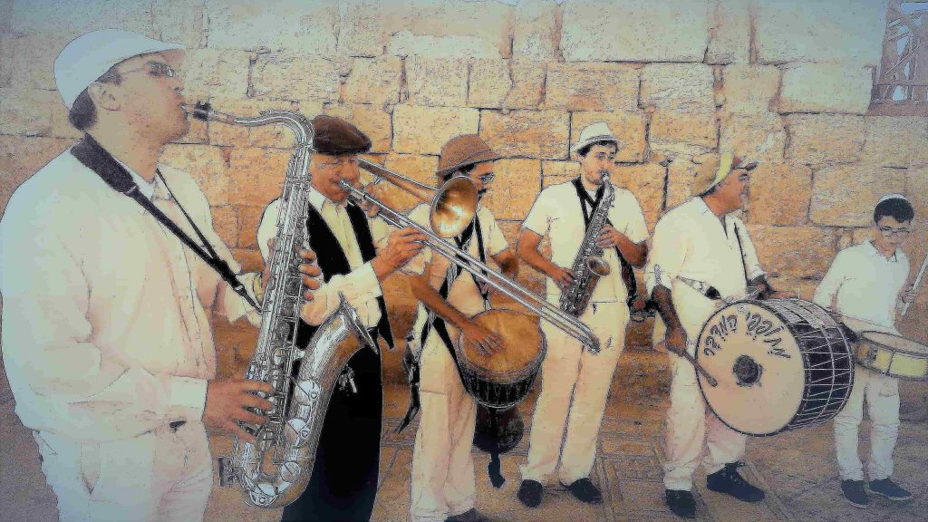 כליזמרים לבר מצווה בכותל